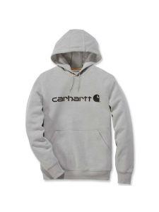 Carhartt 103873 Delmont Graphic Hooded Sweatshirt - Asphalt Heather