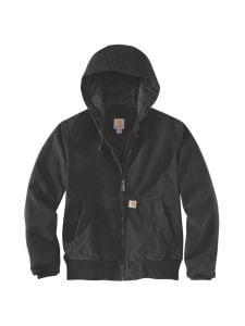 Carhartt 104053 Women's Washed Duck Active Jacket - Black
