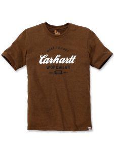 Carhartt 104181 Made To Last T-Shirt - Oiled Walnut