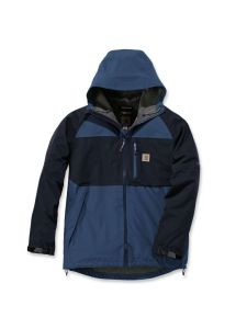 Carhartt 104245 Force Hooded Jacket - Dark Blue Navy