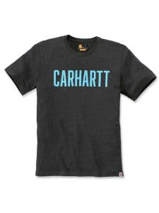 Carhartt 104267 Southern Block Logo T-Shirt - Carbon Heather