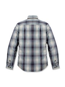 Carhartt 104331 Essential Plaid Shirt - Bluestone