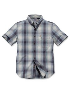 Carhartt 104332 Essential Plaid Shirt - Bluestone