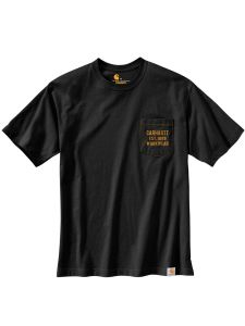 Carhartt 104363 Graphic Pocket T-Shirt - Black