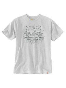 Carhartt 104546 Southern water graphic t-shirt - Heather grey