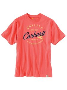 Carhartt 104265 Southern Graphic T-Shirt - Hot Coral