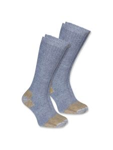 Carhartt A555 Steel Toe Work Boot Sock (2-pack) - Grey