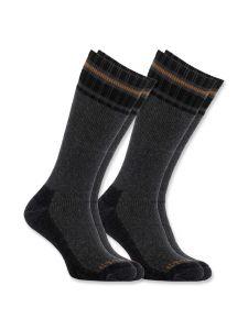 Carhartt A774-2 Koud weer thermische sokken 2-pak - Grey