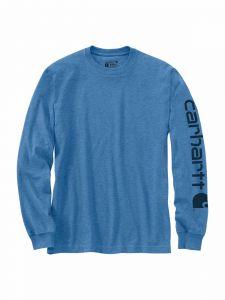 Carhartt EK231 T-Shirt Logo Lange Mouw