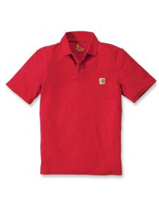 Carhartt K570 Contractor's Work Pocket Polo - Red