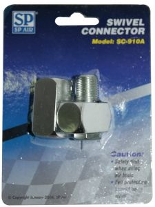 "Air Connector 1/4"" Dr Swivel - SP Air"