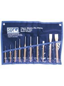 Pendrijver & Koudbeitel Set 10dlg - SP Tools