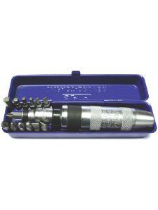 SP Tools SP34030 Slagschroevendraaierset 13-delig Zaagsnede/ Phillips/ Binnenzeskant