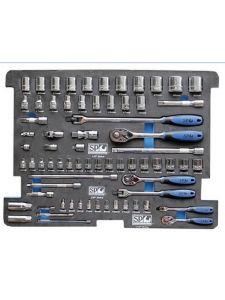 SP Tools SP50001 Eva Inleg voor Gereedschapskist Doppen en Accesoires 70-delig (Concept)