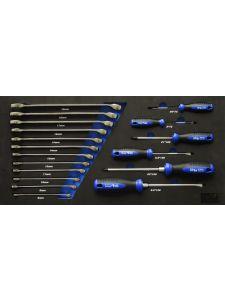 SP Tools SP50014 Eva Inleg 27-delig Ringsteeksleutels en Schroevendraaiers