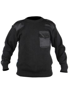 Commando Sweater Dampier Black - Storvik