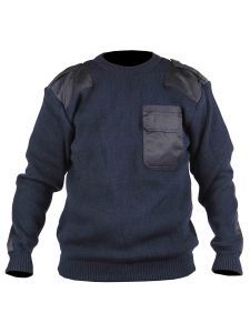 Commando Sweater Dampier Navy - Storvik