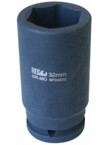 Dop 3/4' Dr Metric Long Impact 6Point - SP Tools
