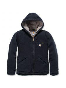 Carhartt WJ141 Sandstone Sierra Jacket - Black